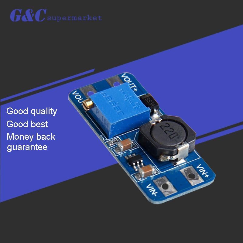 1 stücke MT3608 2A Max DC-DC Step Up Power Module Booster Power Modul Für Arduino