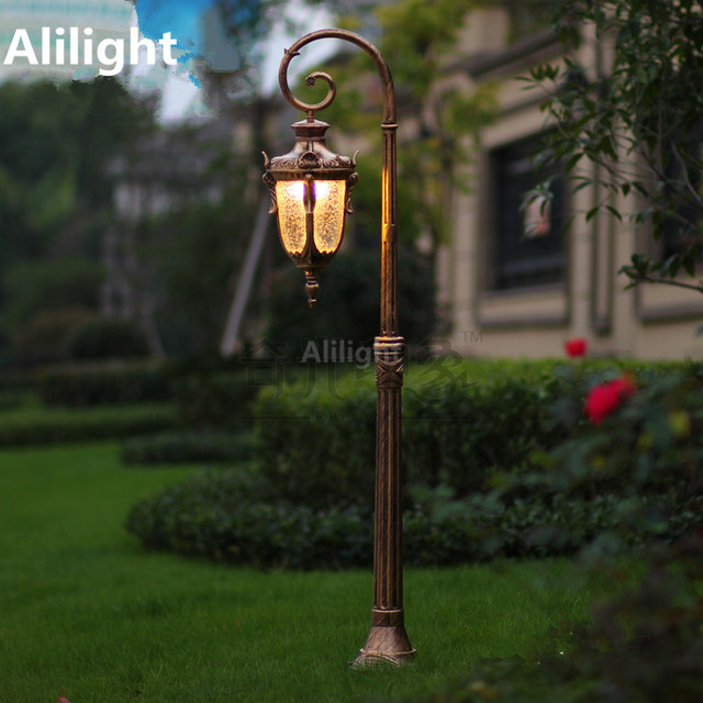 Lantern Outdoor Lighting Europe classical outdoor lighting retro garden light led street lamp europe classical outdoor lighting retro garden light led street lamp aluminum glass waterproof lamp landscape lighting workwithnaturefo