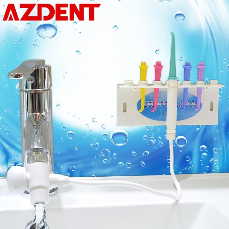AZDENT Top SPA Dental Flosser Oral Irrigator Wasserhahn Wasser Jet Floss Zahn Reiniger Ersatz Düse Tipps für Oral Zähne Bleichen