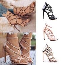2019 Women Sandals High Heels Summer Women Shoes Gl