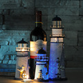 A luz do flash pequeno oceano casa de artesanato de ferro luz luzes luz da noite de sono lâmpadas céu projetor luz bebê dormir