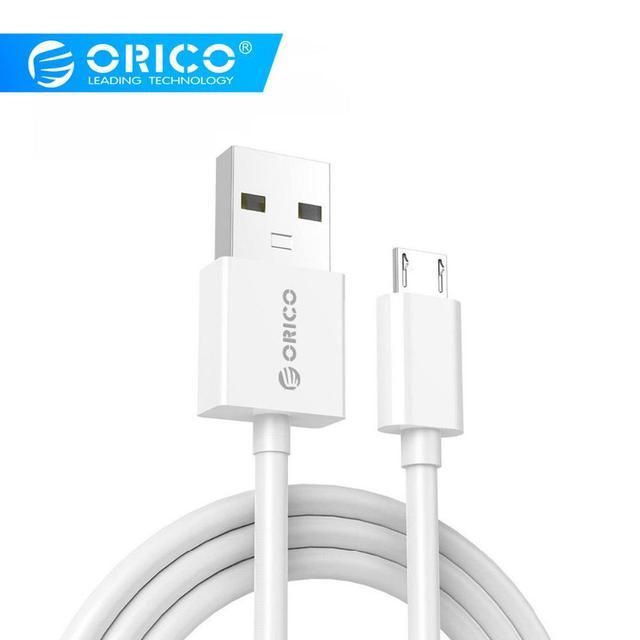 ORICO Micro USB быстрый заряд кабеля для передачи данных синхронизации 3A Максимальная сила тока для мобильных телефонов на Android samsung Galaxy S6 S4 S3 LG htc sony