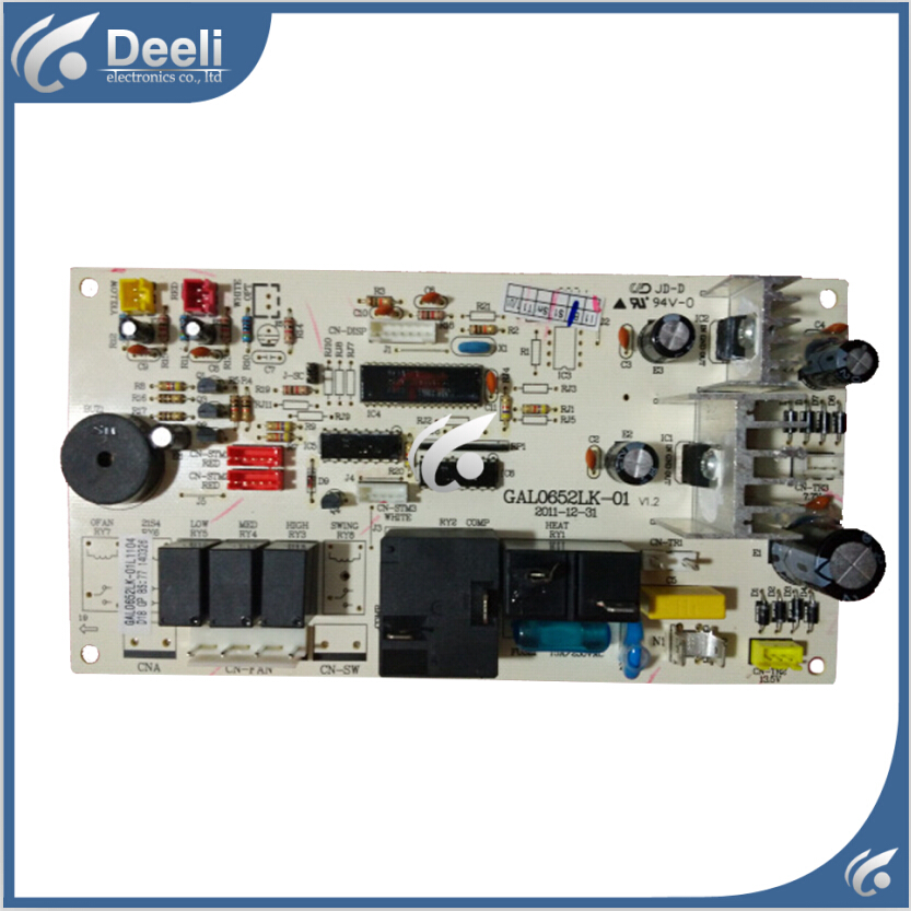95% new used for air conditioning board computer board GAL0652Lk-01L1104 GAL0652Lk-01 good working air conditioning computer board juk7 820 197 ver1 0 12 25 2002 used disassemble