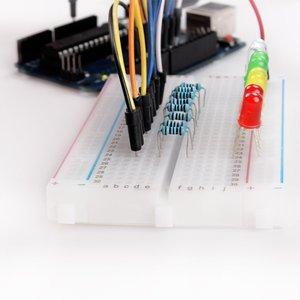 Image 4 - Keywish Điện Tử Thành Phần Cơ Sở Vui Vẻ Kit Đối Với Arduino Raspberry Pi Bó Với Breadboard Cáp Điện Trở, Tụ Điện, LED Giáo Dục