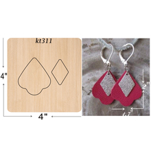Handmade earrings  cutting dies 2019 new die cut &wooden Suitable for common machines on the market