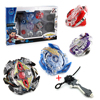 Free Shipping New 4pcs Set Beyblade Arena Spinning Top Metal Fight Beyblad Beyblade Metal Fusion Children