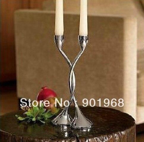 Hot sell Metal 2pcs/set free standing winding candle holder-standing candle holder-candle stand
