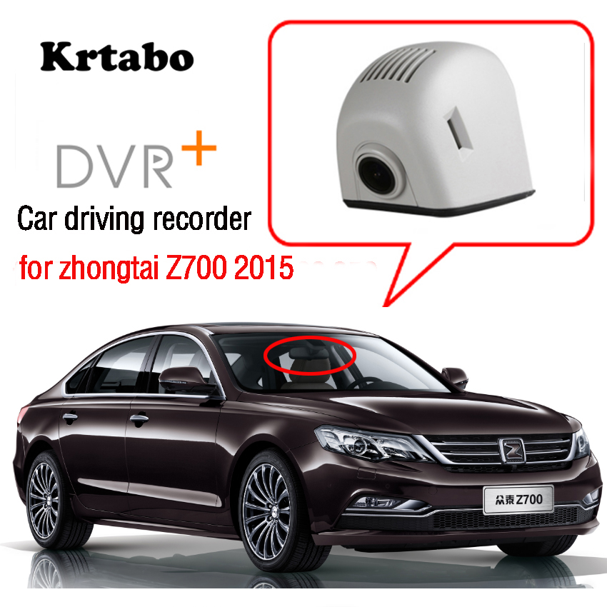 For Zhongtai Z700 2015 Car Wifi Mini DVR Driving Video Recorder Dash Cam for Novatek 96658 Night vision