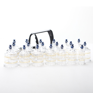 Image 5 - Vacuum Cans set Suction Cups Massage Ventouse Anti Cellulite Cupping Set Bank Physical Therapy Acupunture jars relax 19pcs /set
