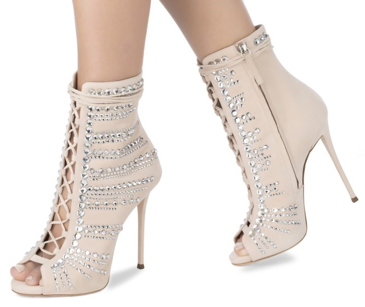 Summer Women High Heel Sandals Female Flock Lace Up Solid Thin Heel Dress Party Crystal Stiletto Open Toe Shoes Size 35-43 burgundy gray saphire blue pink women dress party career work shoes flock shallow mouth stiletto thin high heel pumps