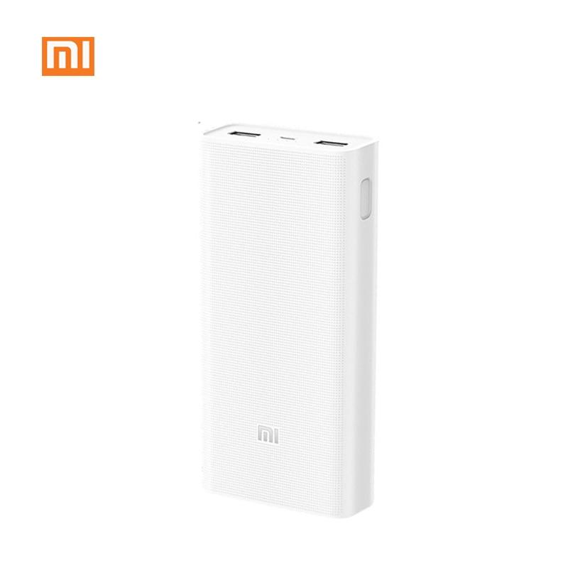 Xiaomi mi Power Bank 20000mAh 2C External Battery portable charging Dual USB Ports Two wayQuick Charge QC3.0 20000 mAh Powerbank