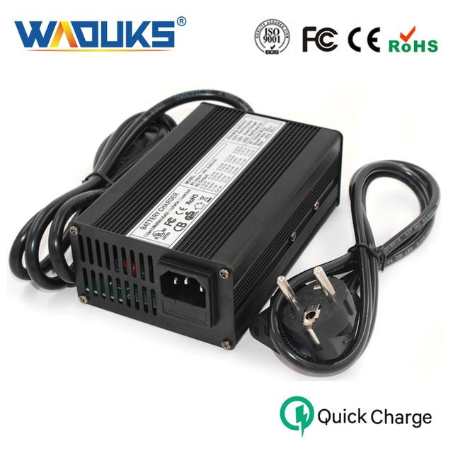 42V 2.5A Li-Ion Battery Charger Aluminium Case Voor 10S 36V Lipo/LiMn2O4/LiCoO2 Batterij Smart lader Auto-Stop Smart Gereedschap