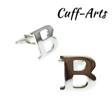 Cuffarts A-Z Alphabet Cuff links Letters Cufflinks Personality  Mix&Match Choose 2 Different For Initials C10072