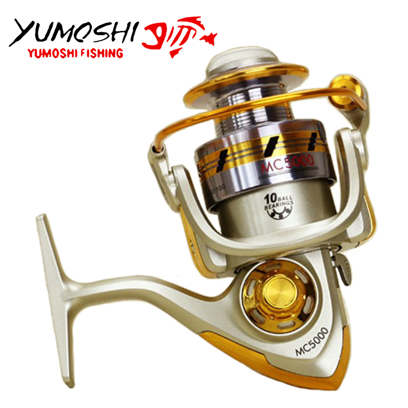 Left//right Interchangeable 12BB Ball Bearing Freshwater Fishing Spinning Reel