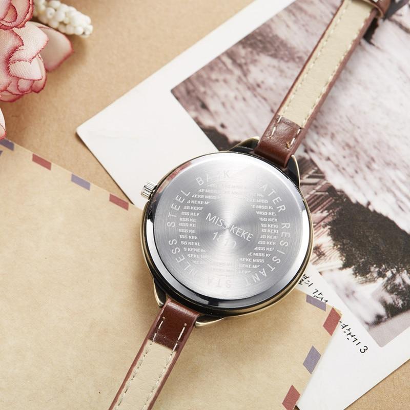 Relojes Mujer Fröken Keke Clay Gullig Mini World Gitarrklocka - Herrklockor - Foto 5