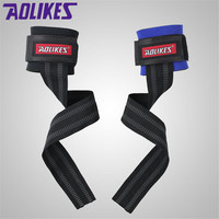 AOIKES 1pair Fitness Elastic Bandage Hand Wrist Strap Wrap Sport Wristband Support Gym Wrist Protector Carpal