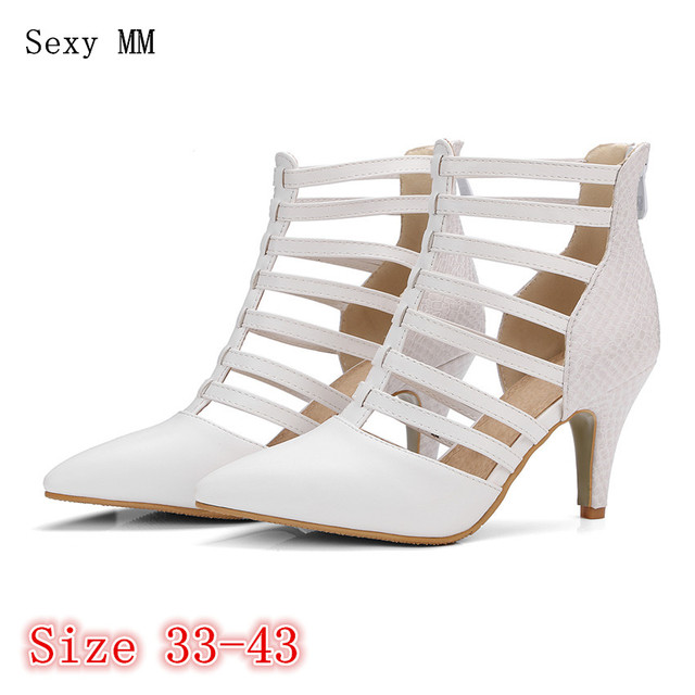 ca7567ea588 Summer High Heels Women Pumps High Heel Shoes Stiletto Woman Party Wedding  Shoes Kitten Heels Plus Size 33 - 40 41 42 43