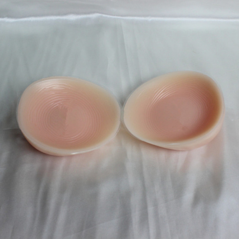 ФОТО free shipping ,women soft and beautiful silicone artificial  breast enhancement fake  700g F cup enhancer lady and shemale