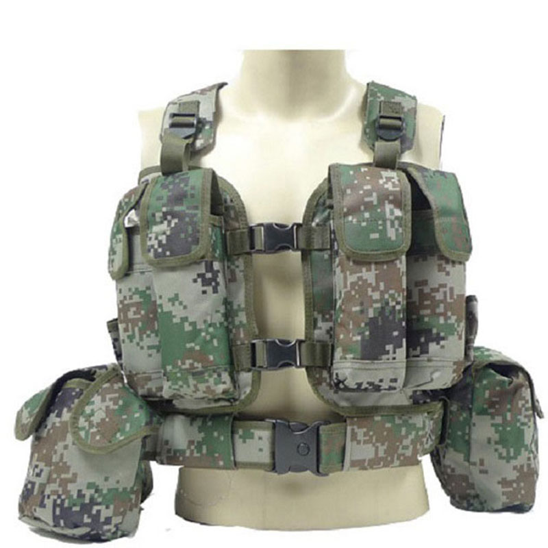 Tactical vest Military Airsoft Molle Vest Protective CS Marine Land Top quality Nylon 800D Molle Vest Airsoft Modular Sales hot selling jiepolly military vest four in one tactical vest top quality nylon airsoft paintball combat assault protective vest