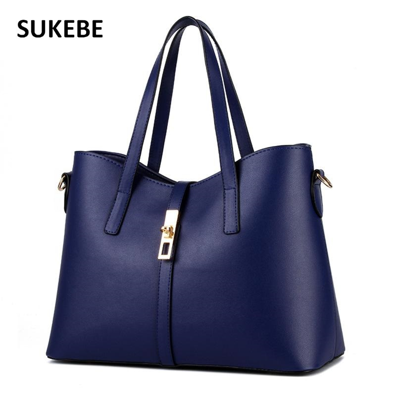 New Fashion European and American Style Women Handbags PU Leather Messenger Bags for Elegant Ladies Female Shoulder bags tote classic black leather tote handbags embossed pu leather women bags shoulder handbags elegant