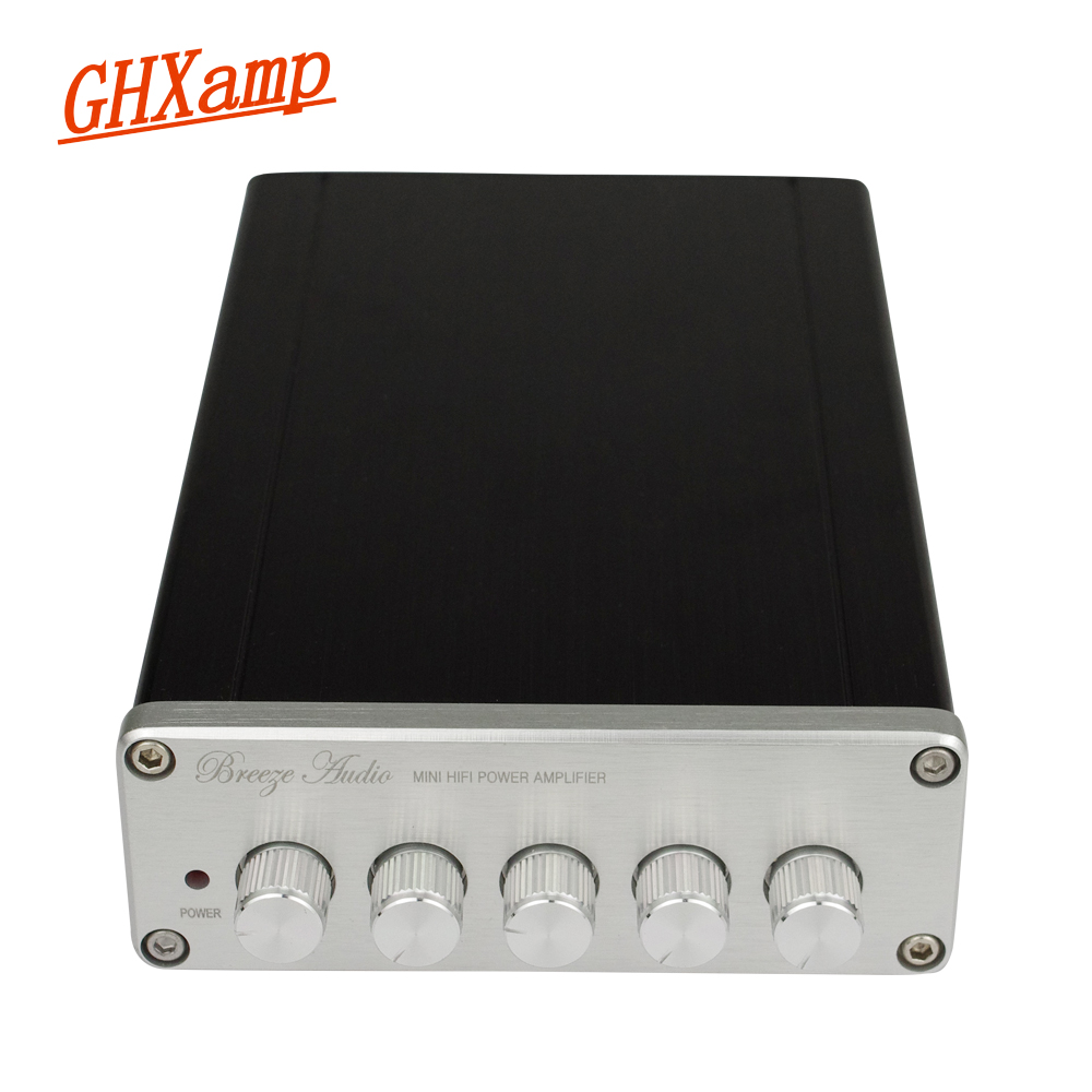 2.1 HIFI Digital Bluetooth Amplifier Machine TPA3116D2 Subwoofer 100W Amplifier For Speaker Car Home Theater DIY High Power name machine b 108 circuit no big loop negative feedback pure post amplifier hifi fever grade high power 12 tubes