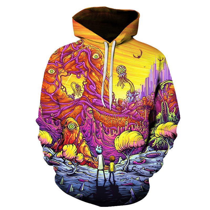 Rick Morty/Tokyo ghoul 3D Printed Hoodie Sweatshirts Men Harajuku Autumn Winter Pullover Mens XXXTENTCAION hoodies dropshiping