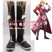 The Legend Of Heroes Sen No Kiseki II Olivier Lenheim Halloween Long Cosplay Shoes Boots S008