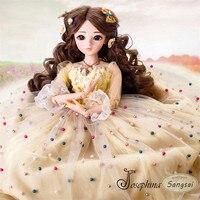 S3 sangsai 1/3 SD BJD Куклы Весна пастбища разноцветными бусинами Свадебные одет girll кукла эстетизм от жозефине doris