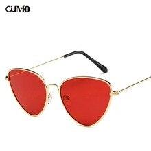 цена на Ou Mo brand polarized Sunglasses Women/Men Driving Mirrors vintage For Women Reflective flat lens Tinted Color Lens sun glasses