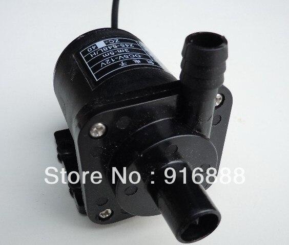 Livraison Gratuite, 550LPH 12 V Brushless DC Mini Pompe à Eau Pour CPU De  Refroidissement / Fontaine Solaire / électrique Pompe à Huile / Aquarium,  ...