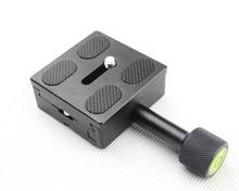 אוניברסלי QR שחרור מהיר צלחת בסיס הר תמיכה עבור DSLR מצלמה Monpod חצובה שקופיות תואם עם Arca שוויצרי מהדק