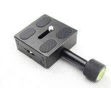 Universal QR QUICK RELEASE PLATE ฐานรองรับสำหรับกล้อง DSLR Monopod ขาตั้งกล้องสไลด์ใช้งานร่วมกับ ARCA SWISS CLAMP