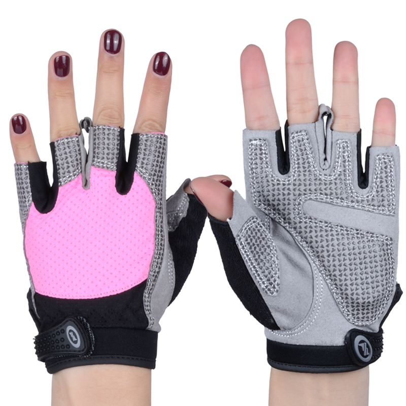 NO PAIN NO GAIN Fitness Weight Lifting <font><b>Gloves</b></font> Breathable Women Man Anti-skid Protective Sports <font><b>Gloves</b></font> <font><b>Gym</b></font> Training Sport 206