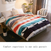 100% Flannel Duvet cover Comforter/Quilt/Blanket case  with Zipper Twin Full Queen King double single size Childrens quilt cove