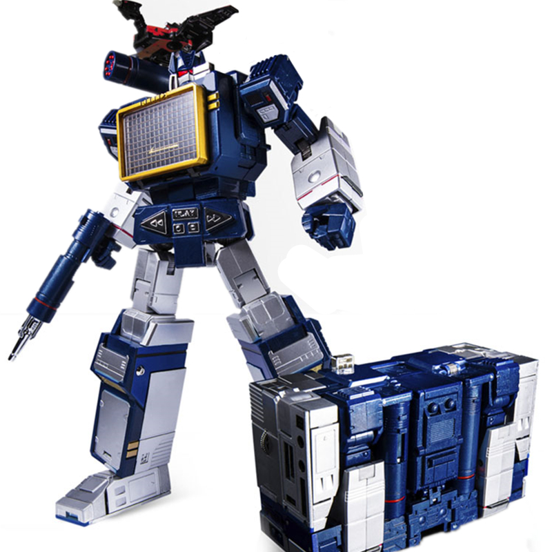 Transformers Soundwave Toy and 6 Taps Action Figure THF MP KO