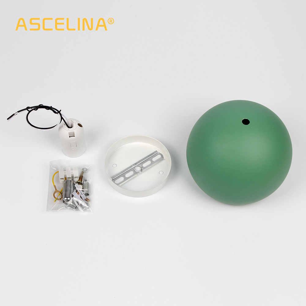 Настенный светильник, современный настенный светильник, регулируемое освещение в помещении, красочные настенные бра, сферический свет для комнаты, гостиная, подвесной светильник для спальни