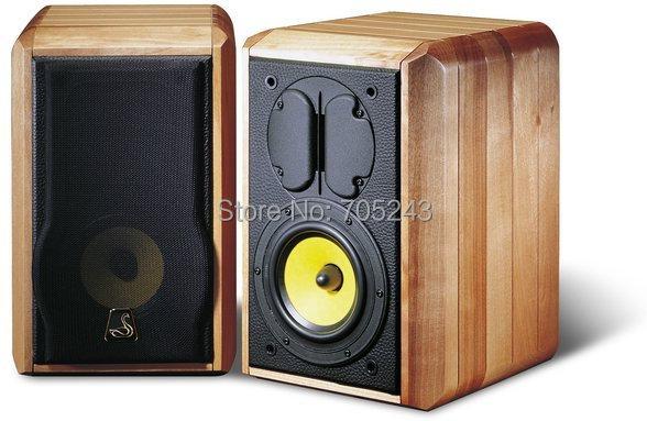 1*set MeloDavid audio SWAN M1 2way boodshelft speaker kit 5.5inch woofer +ribbon tweeter автоакустика morel maximo 6 1 2 2way