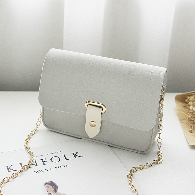2018 New Fashion Women Messenger Bags Cute Wild Korean Version of The Slung Shoulder Small Square Bag Trend Mini Bolsos Mujer version of the new tassel mobile phone bag mini factory direct lady slung small bag small fresh shoulder bag 0724