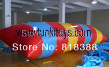 33.3x10x10ft Inflatable water blob +1 CE/UL air pump+Repair kit+free shipping
