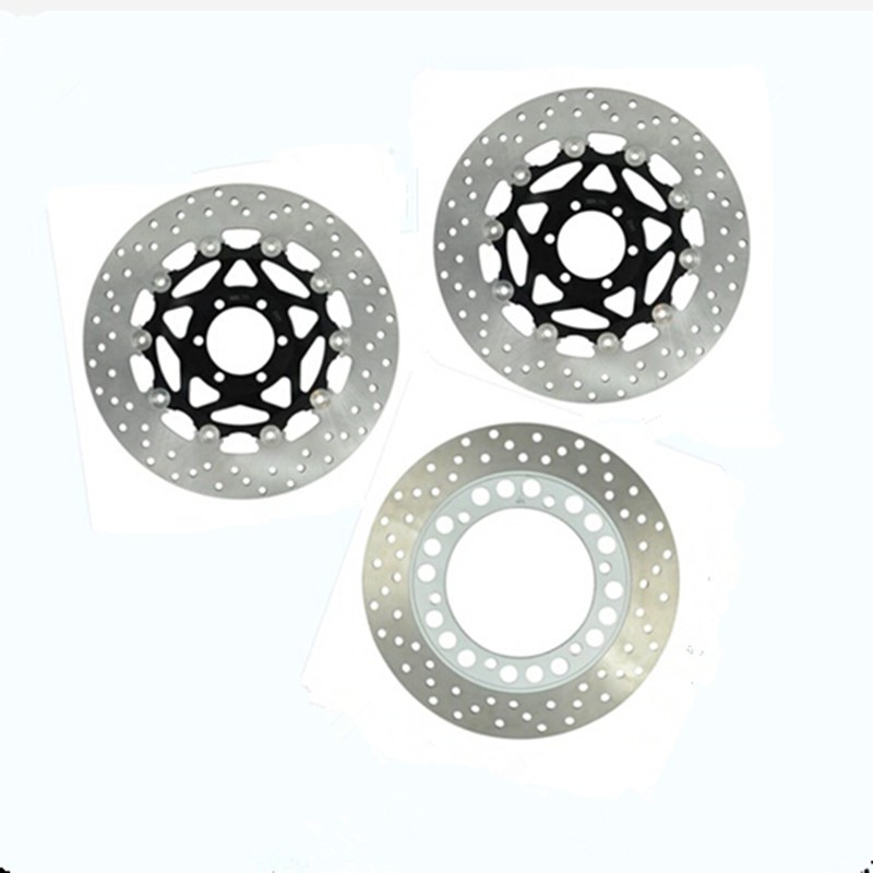 Motorcycle Front Rear Brake Disc Rotor For Yamaha FZ400 1996 1997 XJR400 1993 2005 1994 1998
