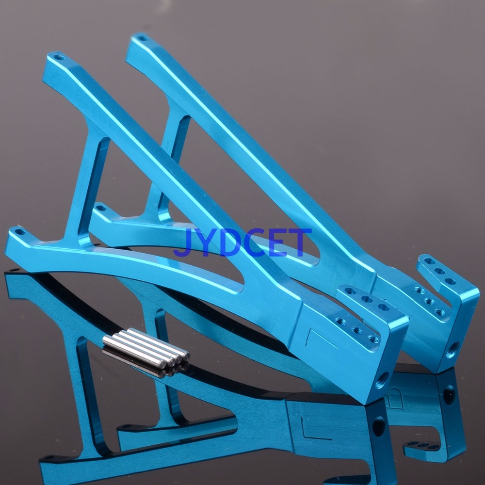 Aluminium Front Lower Suspension Arm RC Upgrade Parts for Traxxas E-r-evo RC Accessory Dark Blue