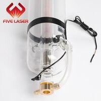 Peças do laser do co2    tubo de vidro spt c130 do laser de 130w para o mdf da máquina de corte do laser e o corte acrílico Lasers de dióxido De carbono     -