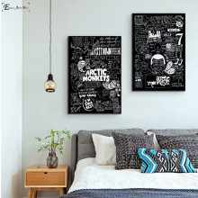 Arctic Monkeys Music Band Quote Canvas Prints Modern Painting Posters Wall Art Pictures For Living Room Decoration No Frame