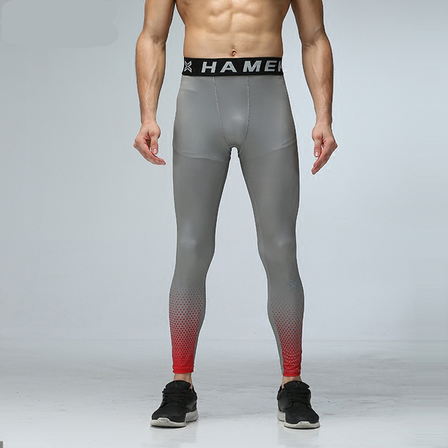 f431a00f2adf6 Workout leggings running pants men sport compression pants jogging fitness  basketball tights skin gym training running