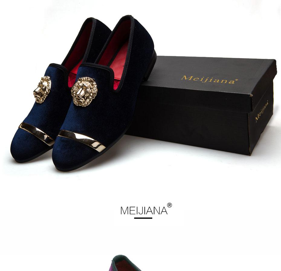 HTB1Z.FpaE3IL1JjSZFMq6yjrFXav - New Fashion Gold Top and Metal Toe Men Velvet Dress shoes italian mens dress shoes Handmade Loafers