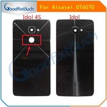 For Alcatel One Touch Idol 4S OT6070 6070k 6070y 6070 Back Cover Housing Rear Battery Door Replacement Parts(China)