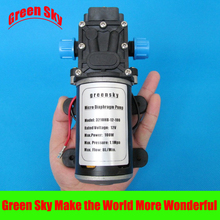 8L/Min 100W car washing,medical,chemical equipment,lawn and garden irrigation use diaphragm high pressure water pump dc 12v стоимость
