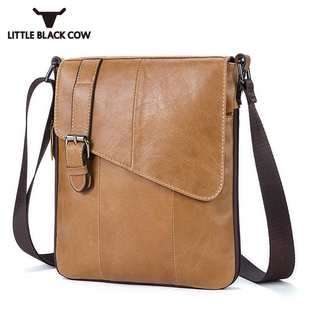 5ab770bb2e Designer Brand Messenger Bag High Quality Cow Leather Over The Shoulder  Bags Business Office Casual Shoulder
