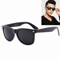 Vision Care Wearable Corrective Glasses Improver Stenopeic Pinhole Pin Hole Glasses Anti fatigue Eye Protection Oculos De Grau|grau|grau oculos|  -