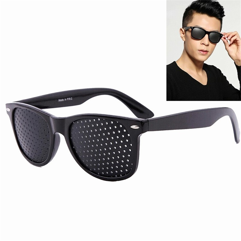 Vision Care Wearable Corrective Glasses Improver Stenopeic Pinhole Pin Hole Glasses Anti-fatigue Eye Protection Oculos De Grau